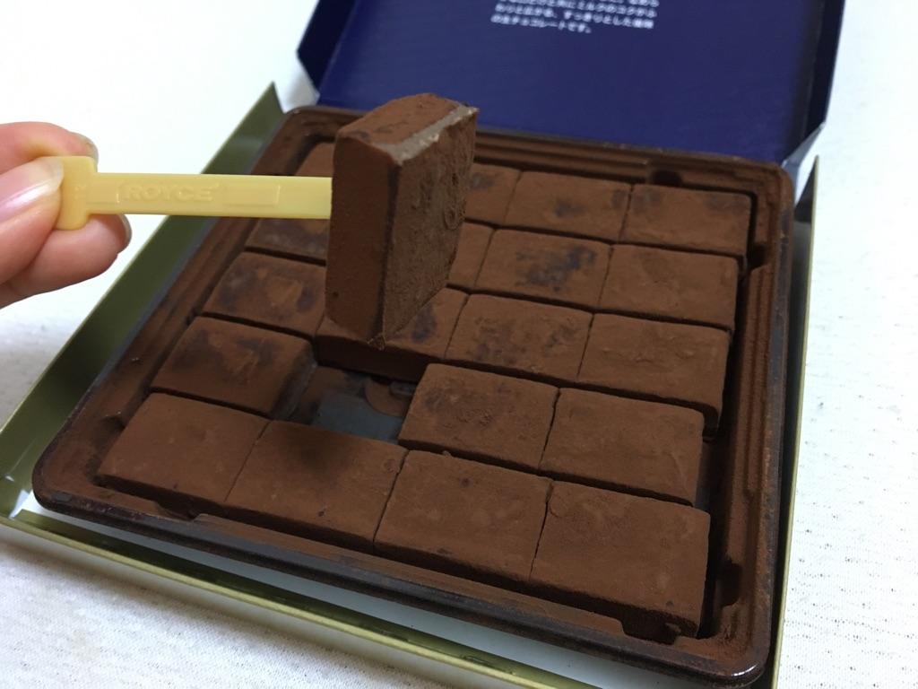 の チョコ ロイズ 生